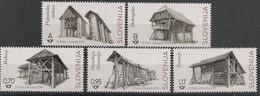SI 2019-1367-71 HAYRACKS, SLOVENIA, 1 X 5v, MNH - Slowenien