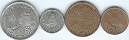 Gibraltar - Elizabeth II - 1991 - 1, 2, 5 & 10 Pence (KMs 20, 21, 22.2 & 23.1) - Gibilterra