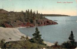 USA - Lake Superior, Beach - Etats-Unis