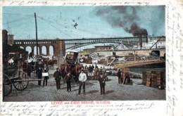USA - St. Louis - Levee And Eads Bridge (flamme World's Faire St.louis 1904) - St Louis – Missouri