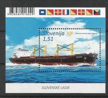 SI 2019-1372 SHIP, SLOVENIA, S/S, MNH - Slowenien