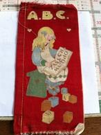 Livre En Tissu Pour Apprendre à Lire A B C (3 Pages De 11cm Sur 21 Cm) - Non Classés