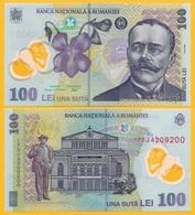 Romania 100 Lei P-121h 2017 UNC Banknote - Romania