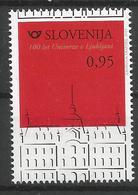 SI 2019-1373 UNIVERCITY, SLOVENIA, 1 X 1v, MNH - Slowenien