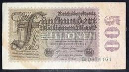 500 Millionen Mark 1923   LOTTO 1537 - [ 3] 1918-1933 : Repubblica  Di Weimar