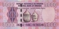 RWANDA P. 41 5000 F 2014 UNC - Rwanda