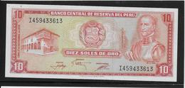 Pérou - 10 Soles De Oro - Pick N°112 - NEUF - Peru