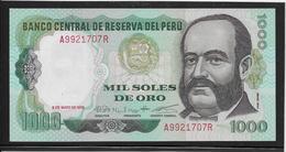 Pérou - 1000 Soles De Oro - Pick N°118 - NEUF - Peru