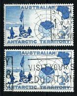 Antártida (Australiana) Nº 1 (2 Sellos) USADO - Usados