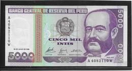 Pérou - 5000 Soles De Oro - Pick N°137 - NEUF - Peru