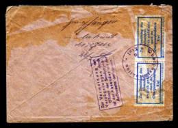 1958 - Luftpostbrief Ab Berlin Nach Kellinghusen - Zurück Und Zur Absenderermittlung Geöffnet - [5] Berlin