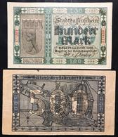 100+ 500 Mark 1922 Berlin   LOTTO 999 - [ 3] 1918-1933 : Repubblica  Di Weimar