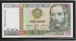 Pérou - 1000 Soles De Oro - Pick N°136b - NEUF - Pérou