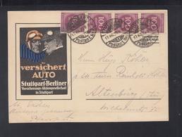 Dt. Reich PK Auto Versicherung Stuttgart-Berliner - Deutschland