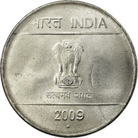 Monnaie, INDIA-REPUBLIC, 2 Rupees, 2009, TTB+, Stainless Steel, KM:327 - Inde