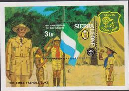 Sierra Leone Scout' Set MNH - Nuovi