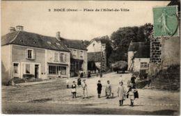 CPA Noce Orne - Place De L'Hotel De Ville (800256) - France