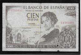 Espagne - 100 Pesetas - Pick N°150 - B - [ 3] 1936-1975 : Régence De Franco