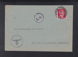 Dt. Reich Brief 1943 Nordhorn Nach Amsterdam - Briefe U. Dokumente