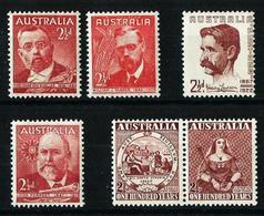 Australia Nº 161/2-168-170-175/6 Nuevo - Mint Stamps