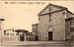 CPA Pisa Chiesa Di S.Francesco E Ingresso Al Museo Civico ITALY (800633) - Pisa