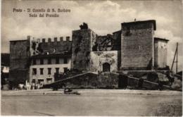CPA Prato Castello Di S.Barbara Sede Del Presidio ITALY (800673) - Prato