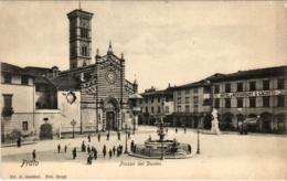 CPA Prato Piazza El Duomo ITALY (800680) - Prato