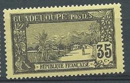 Guadeloupe  - Yvert N°  64  *  Po 63104 - Guadeloupe (1884-1947)