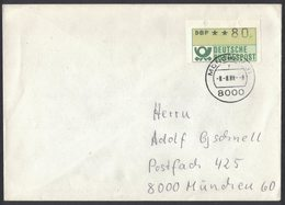 RB18     Automatenmarke 1988 BRD ATM 80Pf München - BRD