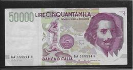 Italie - 50000 Lire - Pick N°116a - SUP - [ 2] 1946-… : République