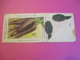 Sachet Vide/ Graines De Navet/ Le PAYSAN /Navet Noir Long /Navet Noir D'Alsace/ Vers1920 - 30             VPN178 - 2. Graines