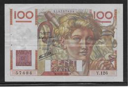 France - 100 Francs Jeune Paysan - Fayette N°28-10 - TTB - 1871-1952 Anciens Francs Circulés Au XXème
