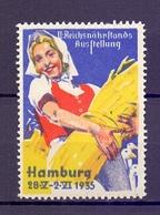 CINDERELLA ERINNOFILIA HAMBURG 1935 (GIUGN1900B92) - Erinnofilia