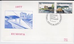 Belgium 1977 FDC Europa CEPT (T1-12) - Europa-CEPT