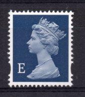 "Great Britain - 1999 - ""E"" Europe Elliptical Perf Machin (Issued 19/01/99) - MNH - Nuovi"