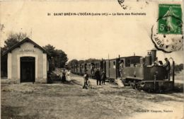 CPA ST-BRÉVIN-L'OCÉAN La Gare Des Rochelets (860523) - Saint-Brevin-l'Océan