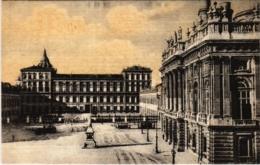 CPA Torino Piazza Castello Palazza Reale ITALY (800830) - Italie