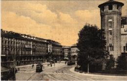 CPA Torino Piazza Castello Gran Hotel Europa ITALY (800832) - Collezioni & Lotti