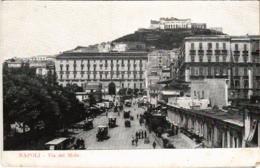 CPA Napoli Via Del Molo ITALY (800838) - Napoli (Naples)
