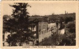 CPA Vicenza Fiume Retrone E Monte Berico ITALY (800865) - Vicenza
