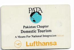 PAKISTAN USED CHIP PHONECARD 30 UNITS LUFTHANSA - Pakistan