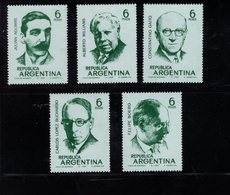 779974325 1969  SCOTT 908 909 910 911 912 POSTFRIS  MINT NEVER HINGED EINWANDFREI  (XX) - MUSICIANS - Unused Stamps