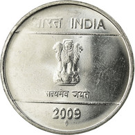 Monnaie, INDIA-REPUBLIC, Rupee, 2009, SUP, Stainless Steel, KM:331 - Inde