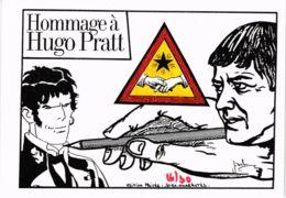 CPM LARDIE Hommage A Hugo Pratt FREEMASONRY (861313) - Lardie