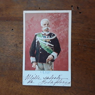 Cartolina Postale Illustrata, 1900, S. M. Umberto I - Royal Families