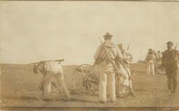 CARTE PHOTO - Vannes, Infanterie De Marine. - Regiments