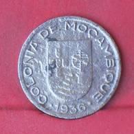 MOZAMBIQUE 50 CENTAVOS 1936 -    KM# 65 - (Nº29271) - Mozambique