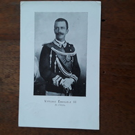 Cartolina Postale Illustrata, 1900, Vittorio Emanuele III - Royal Families