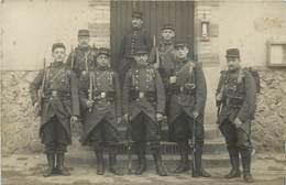 CARTE PHOTO -   Militaires 3em Régiment D'infanterie. - Regimente
