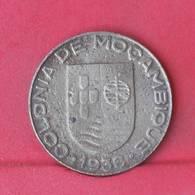 MOZAMBIQUE 1 ESCUDO  1936 -    KM# 66 - (Nº29275) - Mozambique